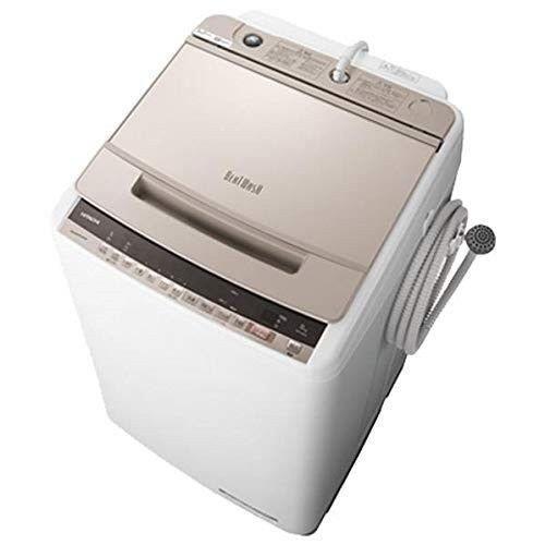 HITACHI 洗濯機 ビートウォッシュ BW-V80E(N) [シャンパン]