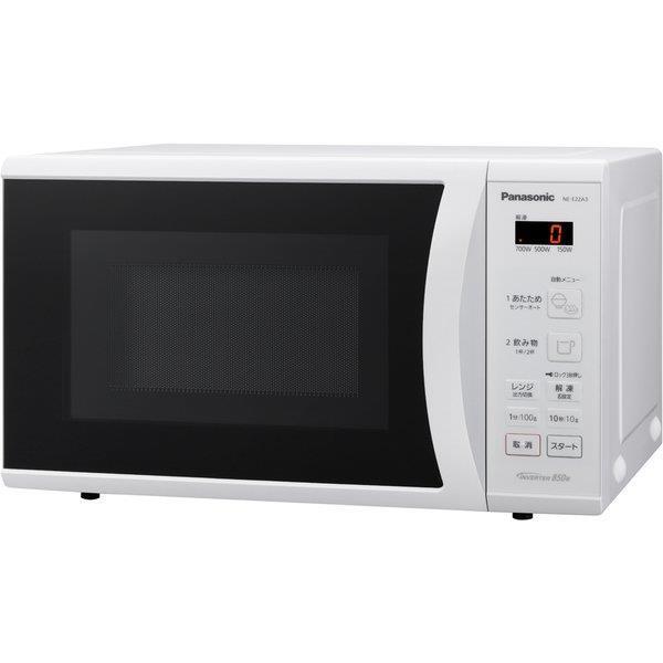 Panasonic 電子レンジ・オーブンレンジ エレック NE-E22A3-W
