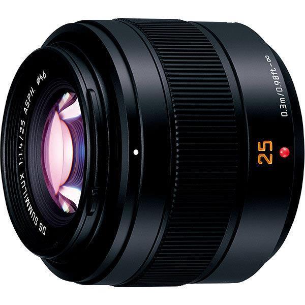 Panasonic レンズ LEICA DG SUMMILUX 25mm/F1.4 II ASPH. H-XA025