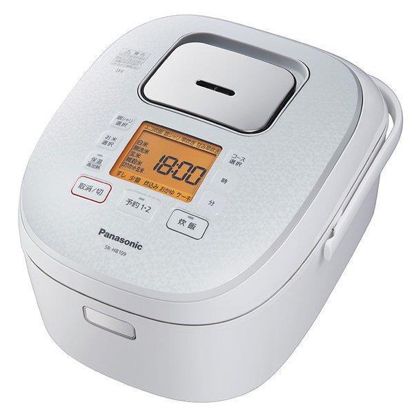 Panasonic 炊飯器 SR-HB109-W [ホワイト]