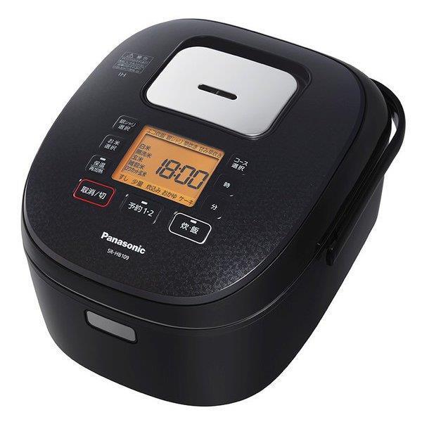 Panasonic 炊飯器 SR-HB109-K [ブラック]