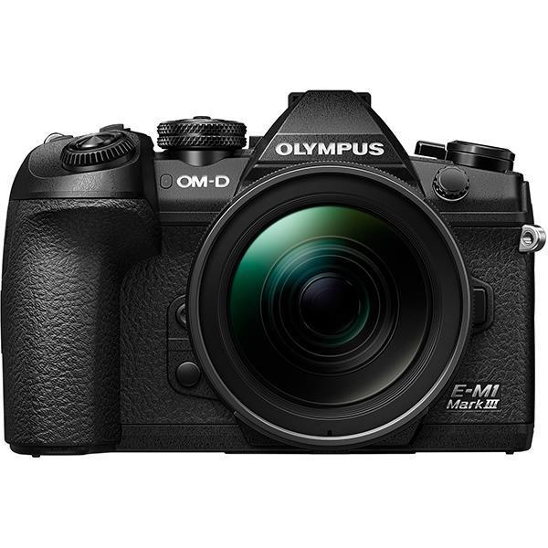 OLYMPUS デジタル一眼カメラ OM-D E-M1 Mark III 12-40mm F2.8 PROキット BLK