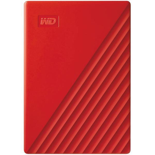 WESTERN DIGITAL 外付けハードディスク My Passport WDBPKJ0040BRD-JESN [レッド]