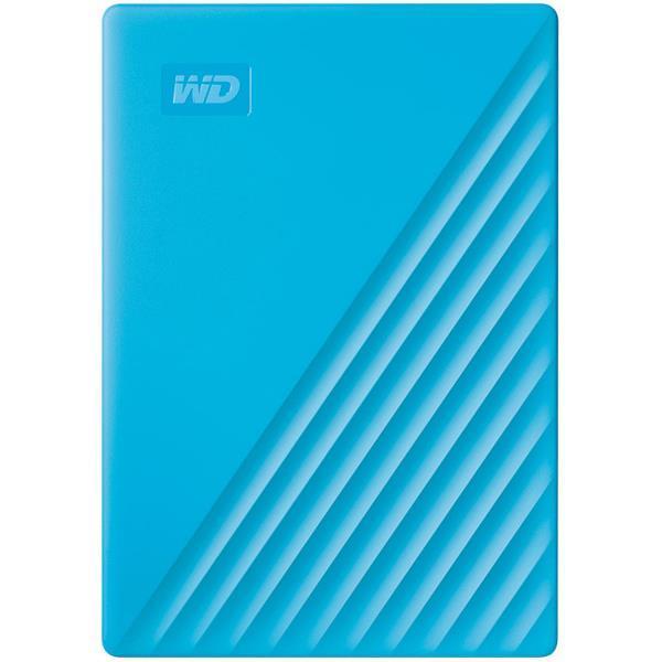 WESTERN DIGITAL 外付けハードディスク My Passport WDBPKJ0040BBL-JESN [ブルー]