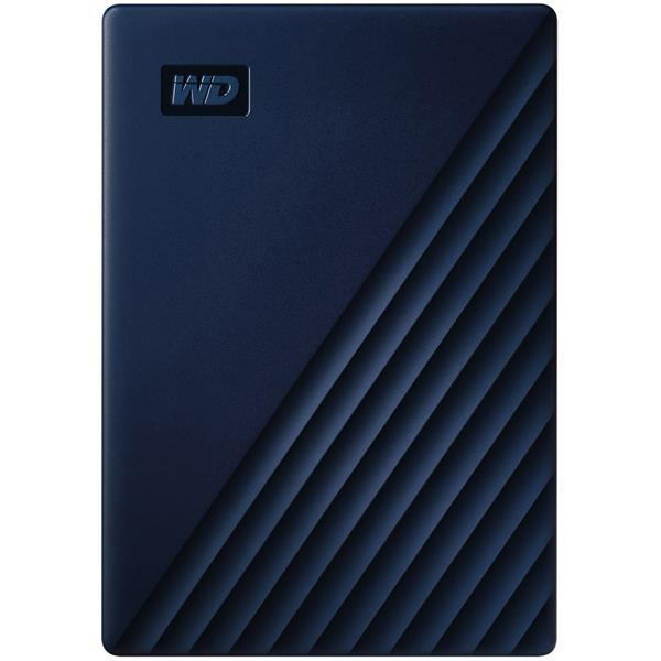 WESTERN DIGITAL 外付けハードディスク My Passport for Mac WDBA2F0040BBL-JESN [ブルー]