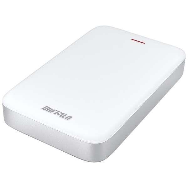 BUFFALO 外付けハードディスク MiniStation HD-PA1.0TU3-C