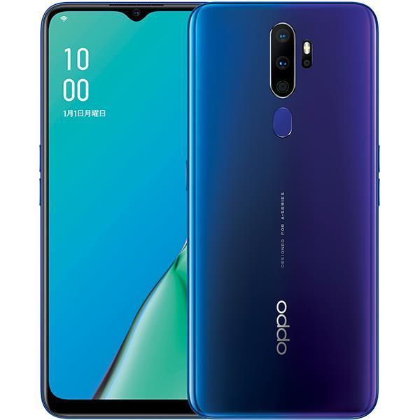 OPPO スマートフォン(SIMフリー) OPPO A5 2020 SIMフリー [ブルー]