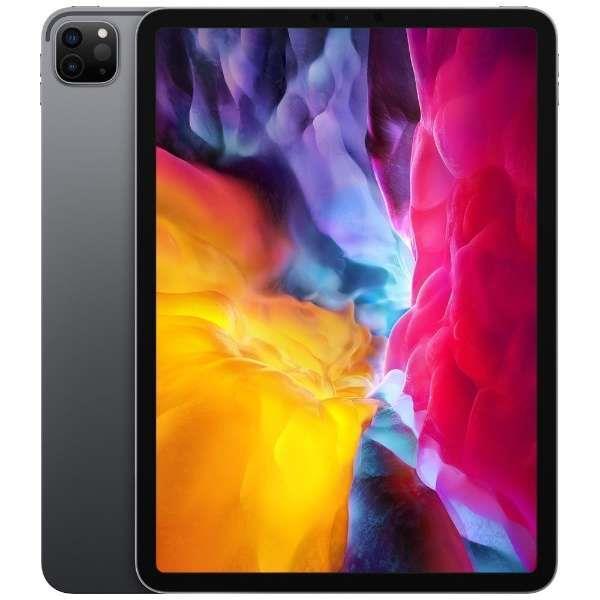 APPLE iPAD(Wi-Fiモデル) iPad Pro 11インチ 第2世代 Wi-Fi 256GB 2020年春モデル MXDC2J/A [スペースグレイ]