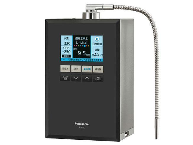 Panasonic 浄水器・整水器 還元水素水生成器 TK-HS92-K [ブラックメタリック]
