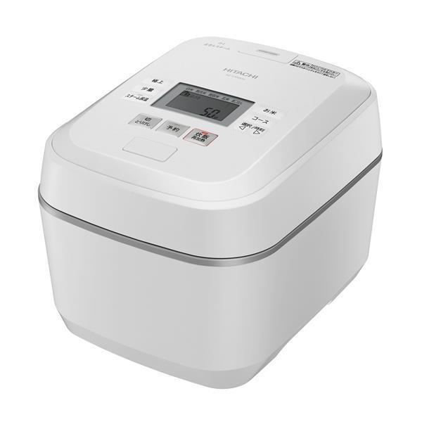 HITACHI 炊飯器 豊富な品 沸騰鉄釜 ふっくら御膳 品質保証 RZ-V100EM W フロストホワイト