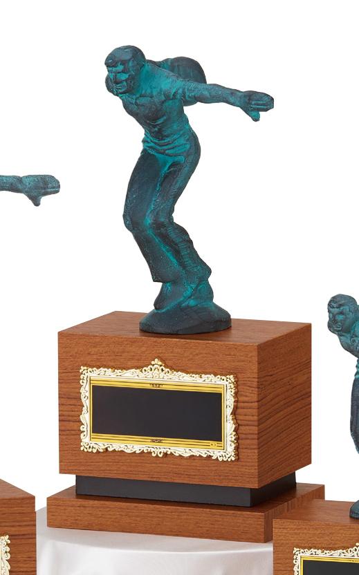 【文字彫刻無料】ブロンズ(B2589B)高さ:23.5cm/ボウリング