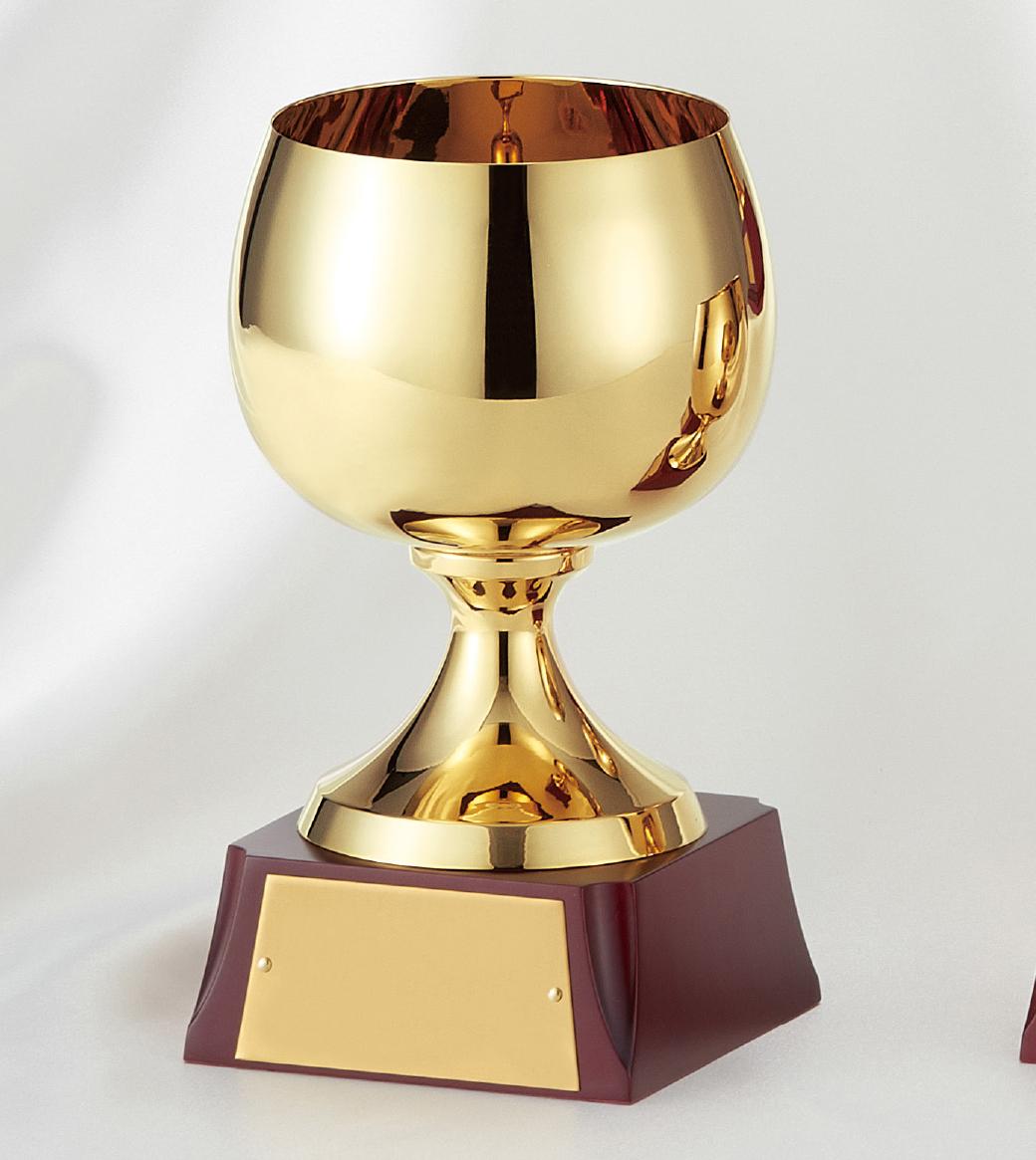 【文字彫刻無料】優勝カップ(C1082C)高さ:17.5cm/リボン無料/真鍮