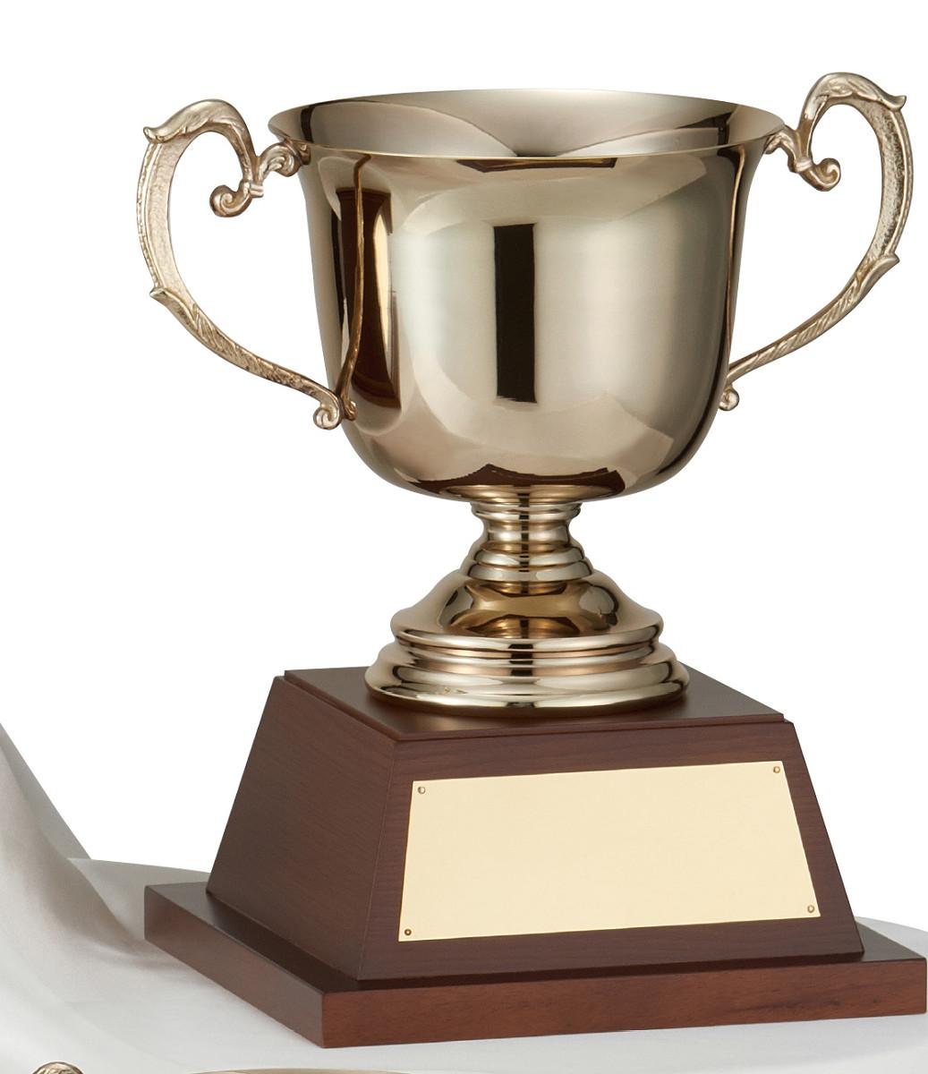 【文字彫刻無料】優勝カップ(C1083B)高さ:33.5cm/リボン無料/真鍮