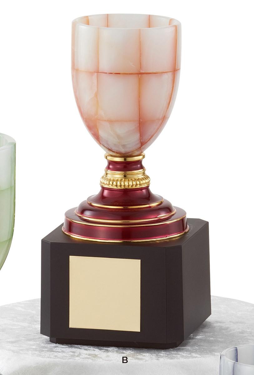 【文字彫刻無料】優勝カップ(C1304B)高さ:24.5cm/リボン無料/オニックス