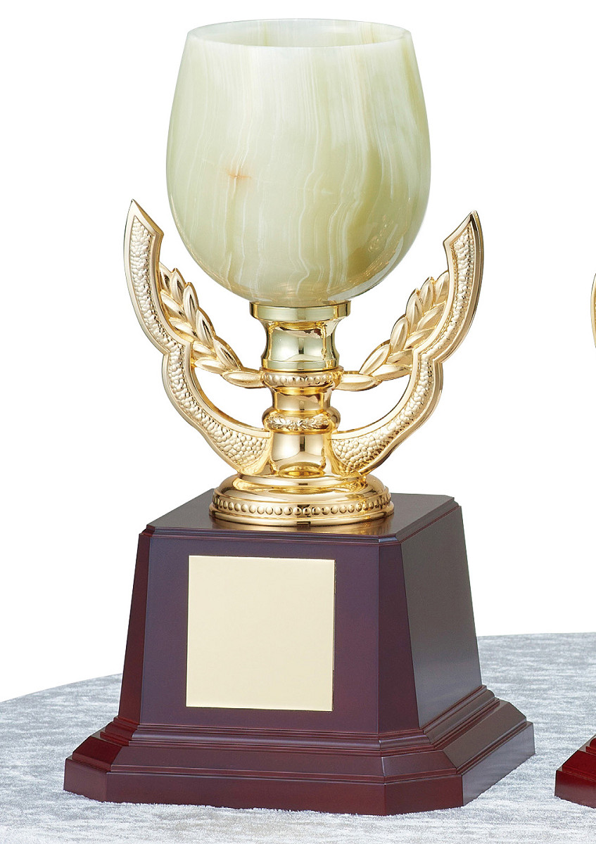 【文字彫刻無料】優勝カップ(C1318A)高さ:28cm/リボン無料/オニックス
