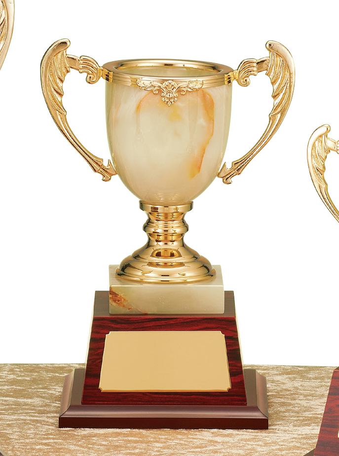 【文字彫刻無料】優勝カップ(C1324B)高さ:26.5cm/リボン無料/オニックス