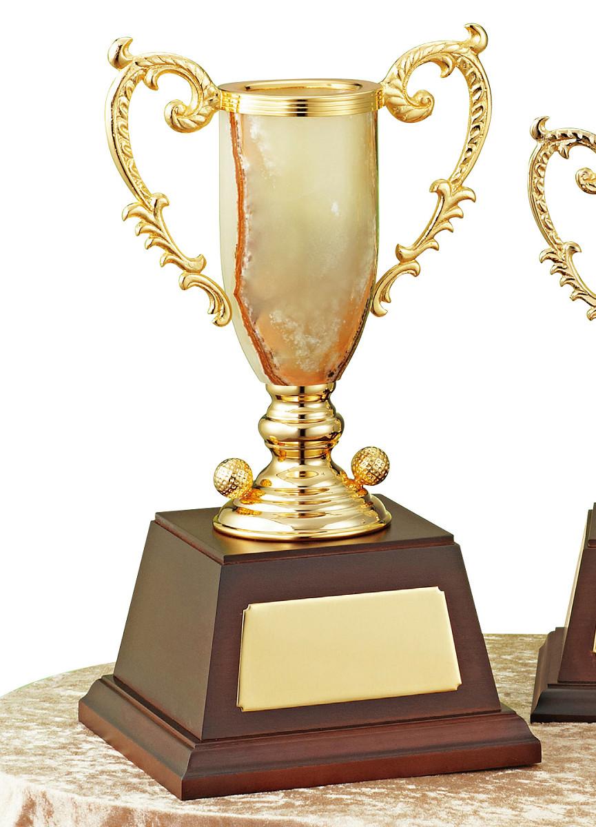 【文字彫刻無料】優勝カップ(C1326A)高さ:35cm/リボン無料/オニックス/ゴルフ/ハードケース付き
