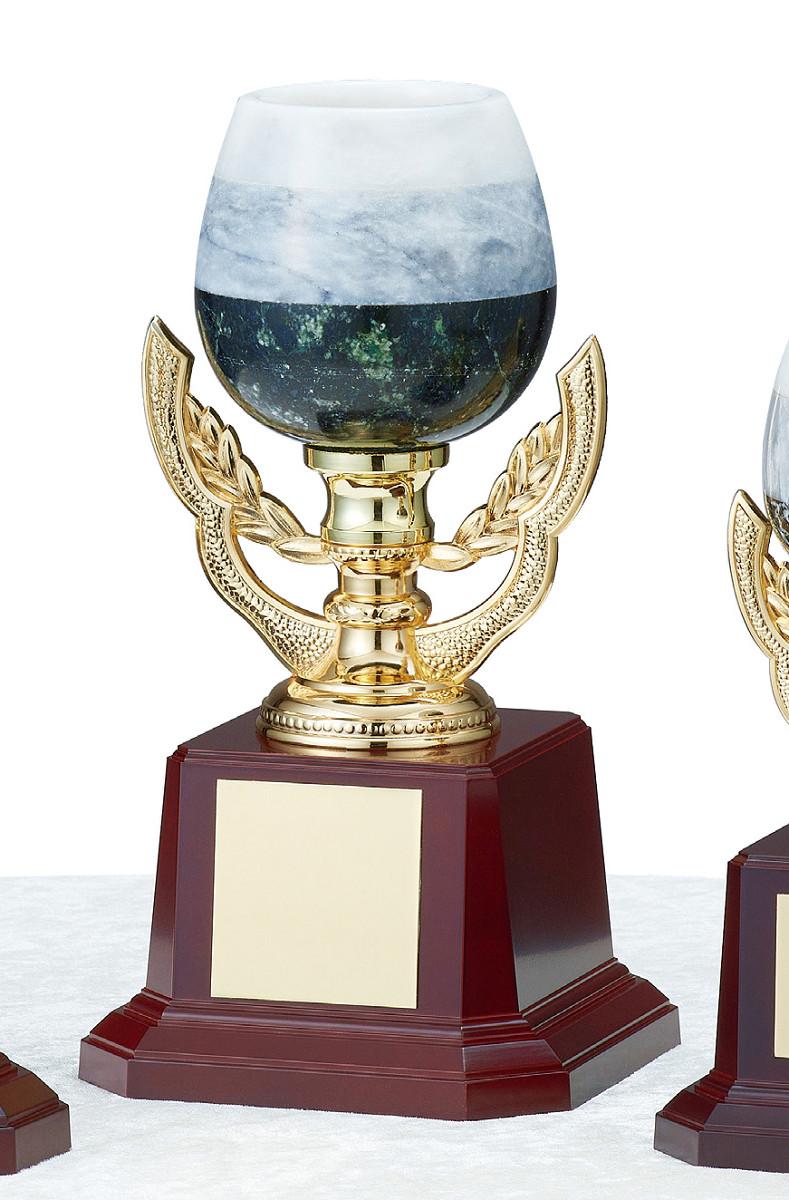 【文字彫刻無料】優勝カップ(C1440B)高さ:25cm/リボン無料/オニックス