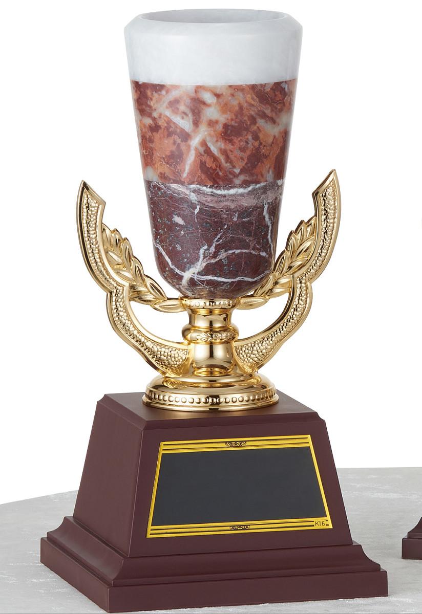 【文字彫刻無料】優勝カップ(C1442A)高さ:28.5cm/リボン無料/オニックス