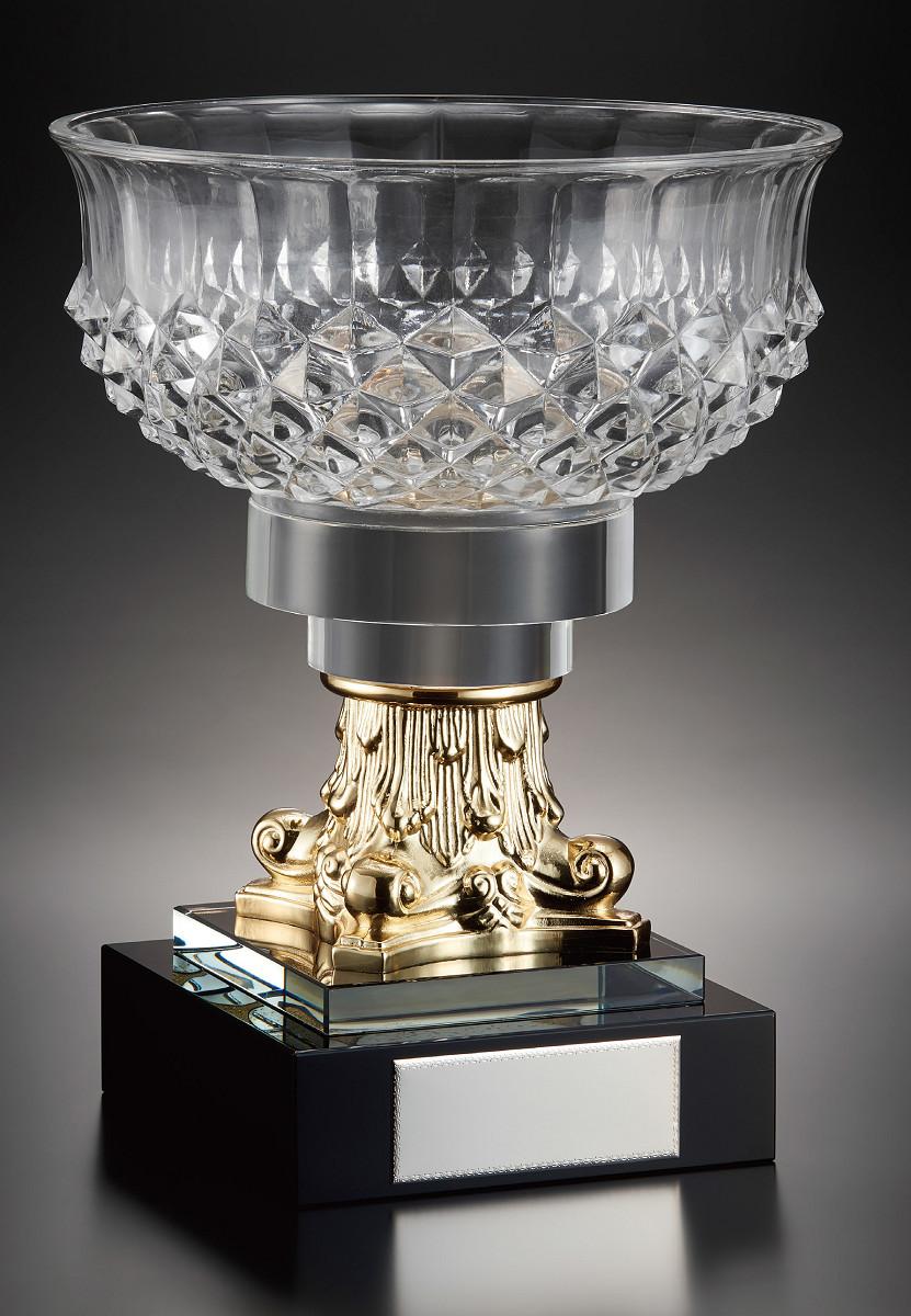【文字彫刻無料】クリスタル(G4800)高さ:31cm/ハードケース付き