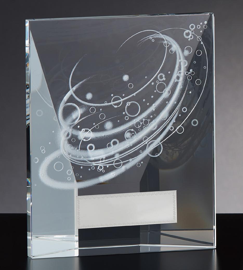 【文字彫刻無料】クリスタル(G4807A)高さ:18cm