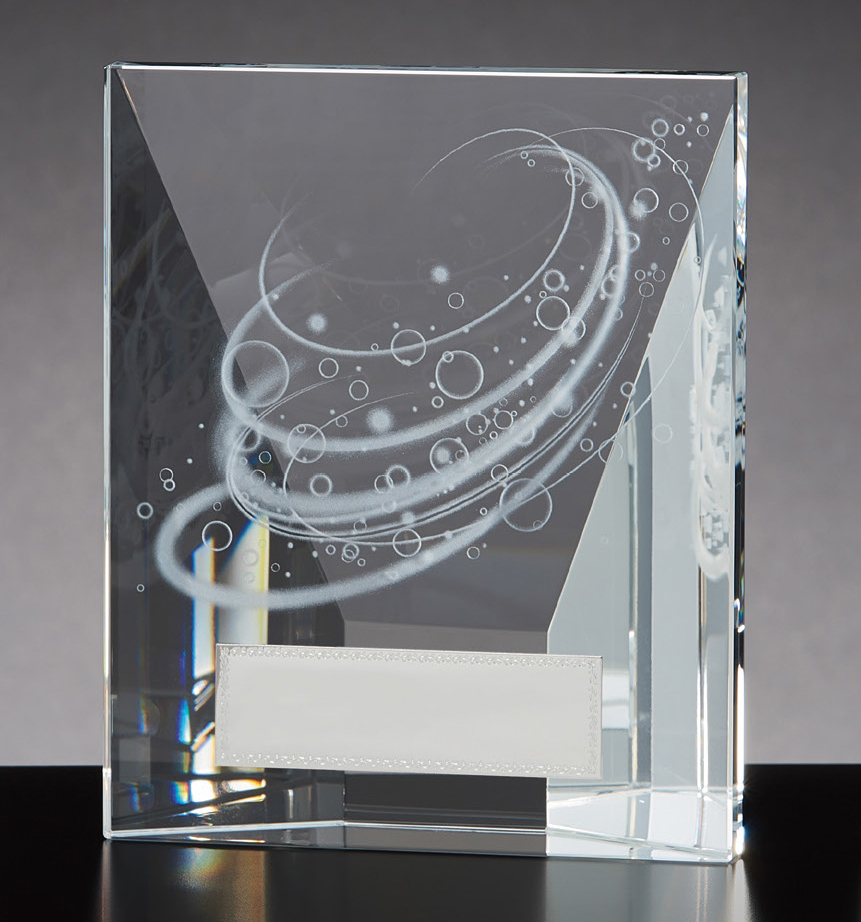 【文字彫刻無料】クリスタル(G4807B)高さ:15.5cm