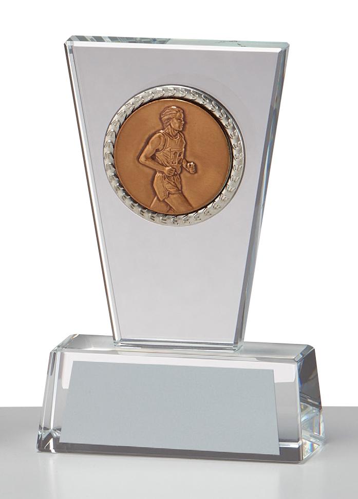 文字彫刻無料 クリスタル GW4832C 記念日 送料無料限定セール中 種目選択可 高さ:10cm