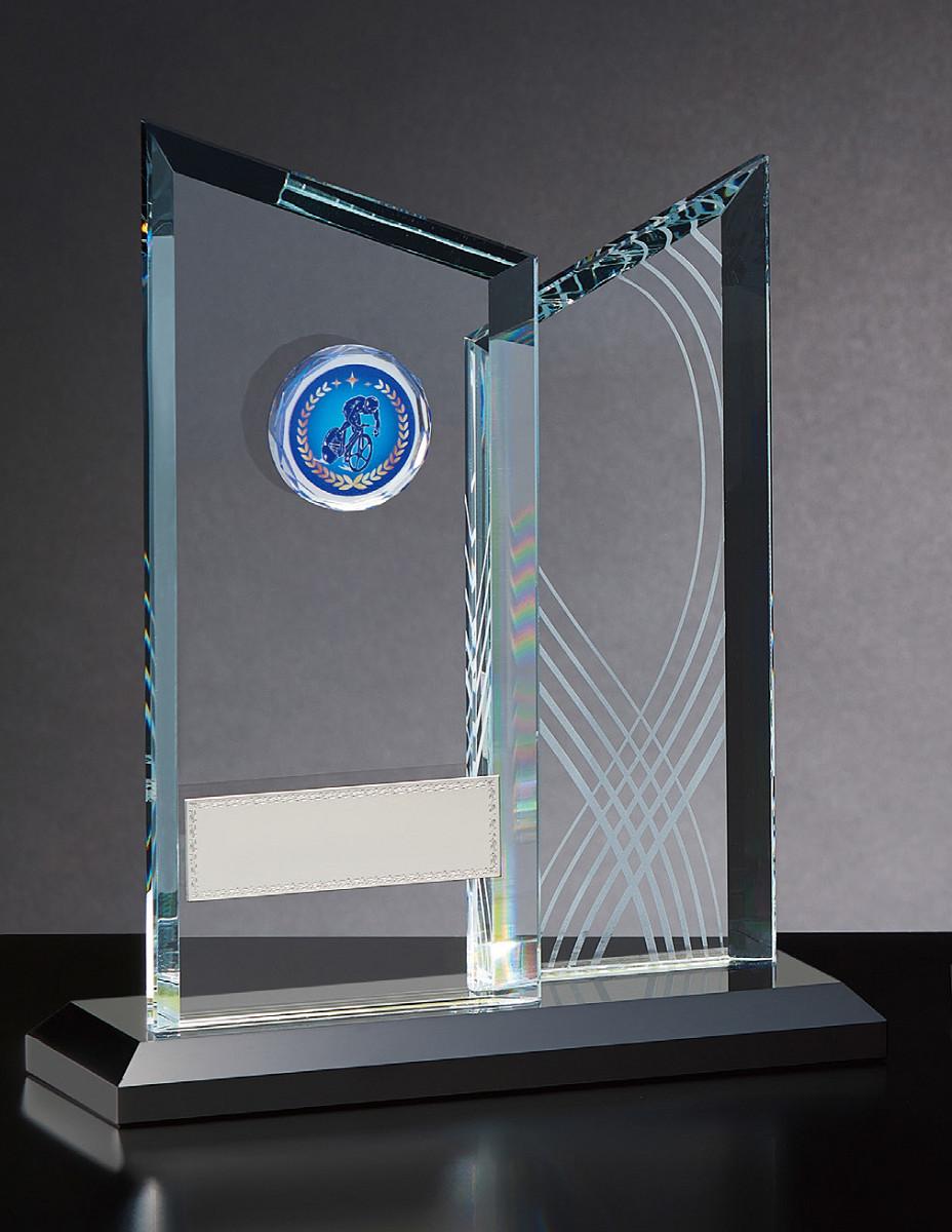 【文字彫刻無料】クリスタル(GW4837A)高さ:24cm/種目選択可