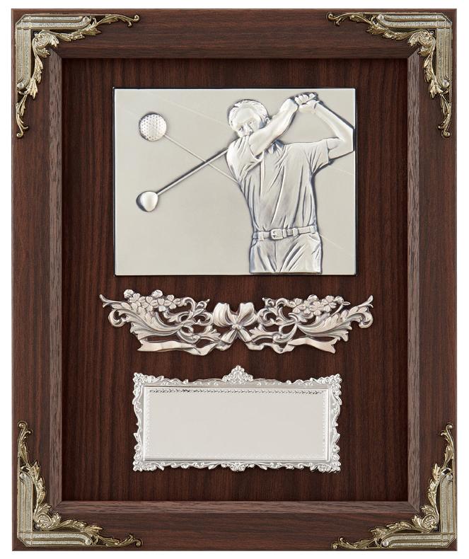 【文字彫刻無料】楯(PL6276A)高さ:28cm/ゴルフ