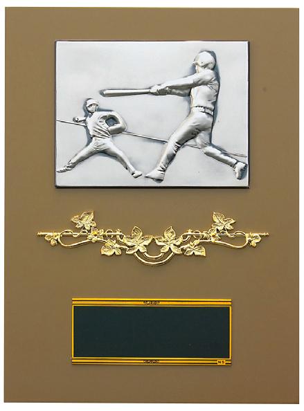 【文字彫刻無料】楯(PL6284B)高さ:26cm/野球