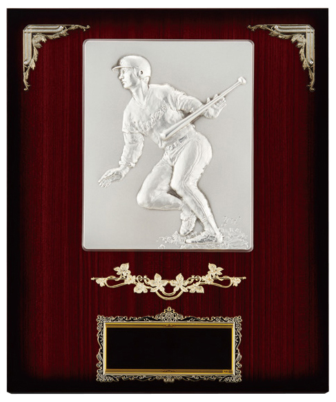 【文字彫刻無料】楯(PL6289B)高さ:37cm/野球