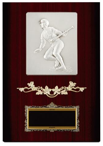 【文字彫刻無料】楯(PL6289C)高さ:30cm/野球