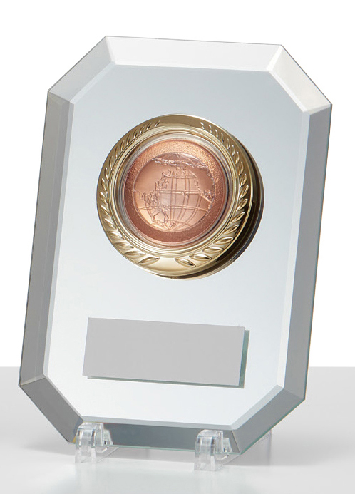 文字彫刻無料 楯 PLW639C ミラーガラス 希望者のみラッピング無料 種目選択可 高さ:15.3cm 人気海外一番