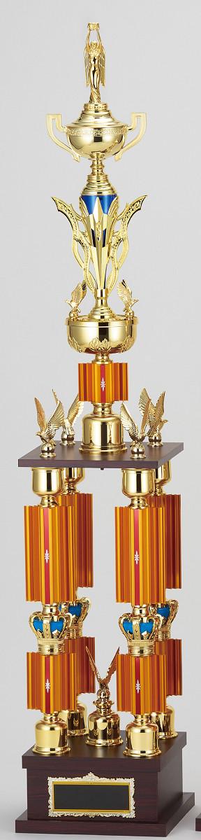 【文字彫刻無料】トロフィー(T3617A)高さ:125cm/リボン無料/人形選択可/4本柱