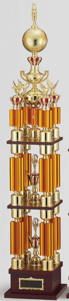 【文字彫刻無料】トロフィー(T3619A)高さ:163cm/リボン無料/人形選択可/4本柱