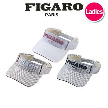 日本正規品 さわやかなホワイトベースのデザイン ゴルフウェアに合わせやすい 即納 値下げ マルマン 人気 FIGARO マルマンゴルフ レディース maruman バイザー SV4299 フィガロ セットアップ セール価格