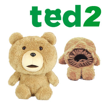日本正規品 ted2 映画公開で人気再沸騰 世界一ダメなテディベア TED テッド 大幅にプライスダウン 即納あり NEW H-308 ヘッドカバー 即出荷 ぬいぐるみ セール価格 テッド2 ドライバー用 460cc対応
