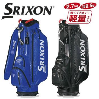ダンロップ SRIXON スリクソン 軽量キャディバッグ 9.5型 GGC-S134 軽量モデルDUNLOP ゴルフ (キャディーバッグ)【ラッキーシール対応】