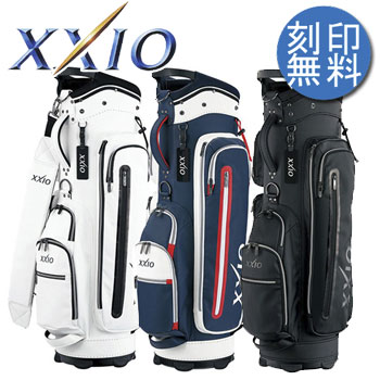 [NEW]ダンロップ XXIO ゼクシオ キャディバッグ 9型 GGC-X092 合成皮革 DUNLOP ゴルフ (キャディーバッグ)【ラッキーシール対応】