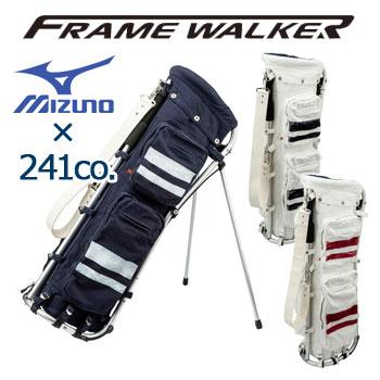 [NEW/2018]ミズノ 241CO. フレームウォーカー キャディバッグ 5LJC181300 MIZUNO FRAMEWALKER ゴルフ ダメージ加工
