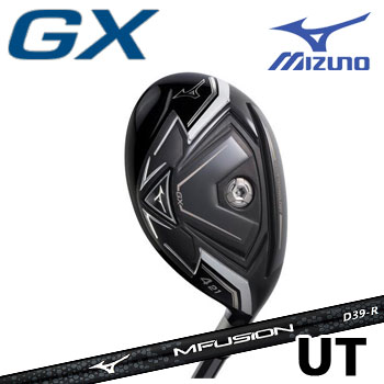 [2018/NEW] ミズノ GX ユーティリティ [MFUSION U カーボンシャフト付]  5KJBB56360 MIZUNO ゴルフ  ジーエックス UT