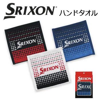 [再販ご予約限定送料無料] 心地良い肌触りのハンドタオルです ダンロップ SRIXON スリクソン ハンドタオル 最新アイテム GGF-05180 DUNLOP セール価格 賞品 ゴルフコンペ景品 ゴルフ