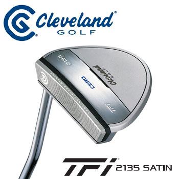 ダンロップ Cleveland クリーブランド TFi 2135 SATIN CERO パター マレットタイプ 34インチ 日本正規品 DUNLOP ゴルフ 【ラッキーシール対応】