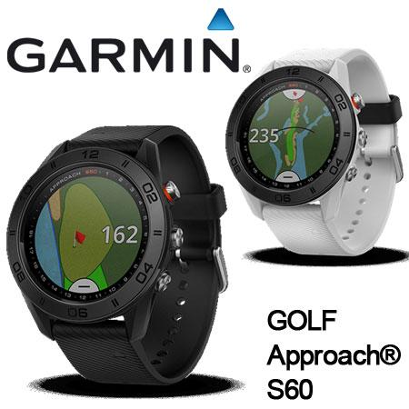 即納★ガーミン GARMIN S60 GPSゴルフナビ [時計型 高低差対応 高性能距離測定器]Approach S60 【セール価格】