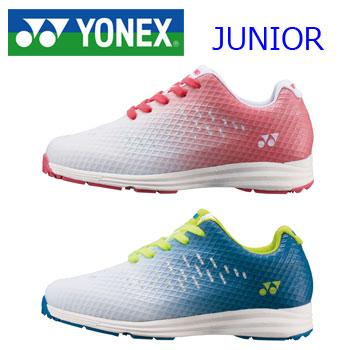 日本正規品 パワークッションプラス搭載 即納 ヨネックス YONEX SHG-ARJ1 大決算セール ジュニア用ゴルフシューズ セール価格 信憑 パワークッションエアラスゴルフJ1