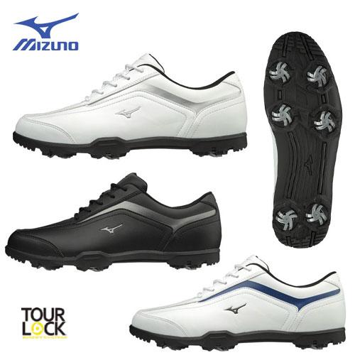 【日本正規品】★軽量/ソフトスパイク/幅広★ [幅広/EEEE]ミズノ スパイク ゴルフシューズ 51GQ1880 MIZUNO T-ZOID ティーゾイド ゴルフ 靴