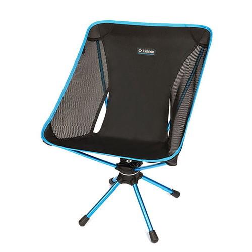 (Helinox)ヘリノックス スウィベルチェア ブラック | アウトドア アウトドア用品 アウトドアー 用品 アウトドアグッズ キャンプ キャンプ用品 おしゃれ チェア チェアー 椅子 いす イス キャンプチェアー アウトドアチェア キャンプグッズ キャンピングチェア バーベキュー
