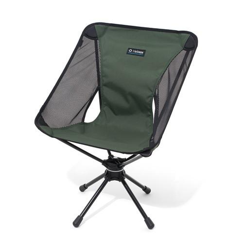 (Helinox)ヘリノックス スウィベルチェア GN | アウトドア アウトドア用品 アウトドアー 用品 アウトドアグッズ キャンプ キャンプ用品 おしゃれ チェア チェアー 椅子 いす イス キャンプチェアー アウトドアチェア キャンプグッズ キャンピングチェア バーベキュー bbq