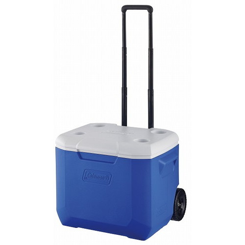 (Coleman)コールマン ホイールクーラー/60QT ブルー/ホワイト  キャンプ用品 クーラーボックス アウトドア用品 クーラー グッズ キャンプ アウトドア キャリー バーベキュー 保冷 ボックス 便利
