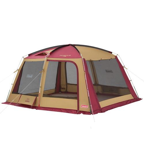 (Coleman)コールマン タフスクリーンタープ/400(バーガンディ)   アウトドア キャンプ アウトドア用品 キャンプ用品 キャンプグッズ アウトドアグッズ タープ 日よけ 日除け シェード サンシェード おしゃれ タフスクリーン テント テント用品